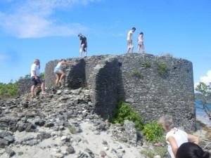 Exploring at Saline Island